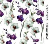 wallpapers  flower  orchid | Shutterstock .eps vector #232129573