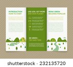 template vector ecological... | Shutterstock .eps vector #232135720