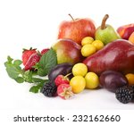 Different Berries And Fruits...