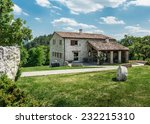 Old Farmhouse In Tuscan  Italy