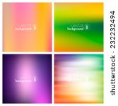 abstract colorful smooth... | Shutterstock .eps vector #232232494