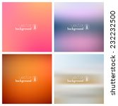 abstract vintage smooth blurred ... | Shutterstock .eps vector #232232500