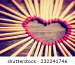 Matchsticks In The Shape Of A...