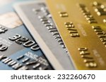 closer up credit card for... | Shutterstock . vector #232260670