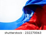Colorful Flag Of Russia