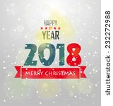 happy new year | Shutterstock .eps vector #232272988