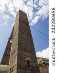 twin towers  bologna italy | Shutterstock . vector #232280698