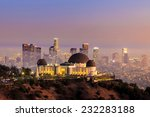 the griffith observatory and...