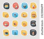 pet bubble speech flat banner... | Shutterstock .eps vector #232300699