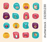 pet bubble speech flat banner... | Shutterstock .eps vector #232301230