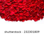 Stock photo red rose petals background pattern perfect for wedding design valentine s day anniversary etc 232301809