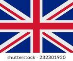 flag of united kingdom vector... | Shutterstock .eps vector #232301920