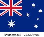 flag of australia vector... | Shutterstock .eps vector #232304908