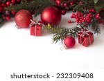 christmas card  | Shutterstock . vector #232309408