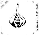 vegetable organic food garlic.... | Shutterstock .eps vector #232311010