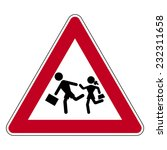 road sign set | Shutterstock .eps vector #232311658