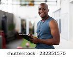 handsome african american male... | Shutterstock . vector #232351570