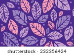 seamless autumn leaves and... | Shutterstock .eps vector #232356424