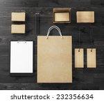 branding mockup | Shutterstock . vector #232356634