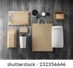 branding mockup | Shutterstock . vector #232356646