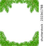 christmas decoration border... | Shutterstock .eps vector #232361788