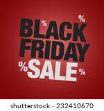 black friday sale | Shutterstock . vector #232410670