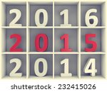 2015 new year concept. white... | Shutterstock . vector #232415026
