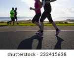 group of runners compete in the ... | Shutterstock . vector #232415638