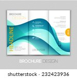 brochure template design with... | Shutterstock .eps vector #232423936
