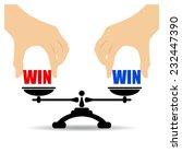 win win concept | Shutterstock .eps vector #232447390