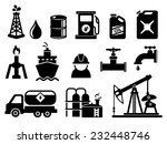 oil and petroleum icon set | Shutterstock .eps vector #232448746
