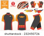 bike or bicycle clothing... | Shutterstock .eps vector #232450726