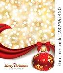 elegant christmas design   eps... | Shutterstock .eps vector #232465450