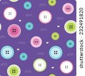 colorful button pattern vector... | Shutterstock .eps vector #232491820