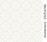 seamless geometric pattern.... | Shutterstock .eps vector #232516786