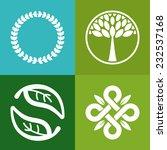 vector abstract emblem   ...   Shutterstock .eps vector #232537168