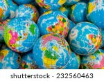 global ball toy | Shutterstock . vector #232560463