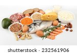 food high in protein isolated...   Shutterstock . vector #232561906