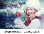 a close up portrait of a little ... | Shutterstock . vector #232579816