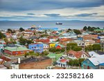 scenic view of punta arenas... | Shutterstock . vector #232582168