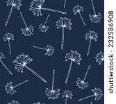 seamless vector floral pattern   Shutterstock .eps vector #232586908