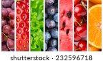 healthy food background.... | Shutterstock . vector #232596718