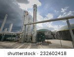 part of a biogas plant  | Shutterstock . vector #232602418