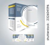brochure design template... | Shutterstock .eps vector #232604596
