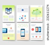 vector brochure design...