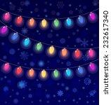 vector realistic lantern... | Shutterstock .eps vector #232617340
