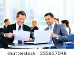 image of business partners... | Shutterstock . vector #232627048