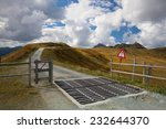 Cattle Guard In The Tyrolean...