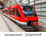 a diesel suburban train in kiel ... | Shutterstock . vector #232646359