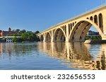Washington Dc   Key Bridge And...